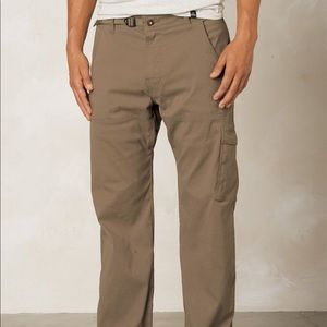 New Prana Men's Stretch Zion Lined Pant
